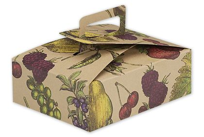 Fruit Bowl Stackable Deli Boxes, 9 x 7 x 3""