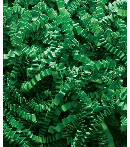 Green Crinkle Cut Fill, 40 lb Box