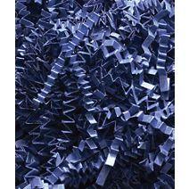 Navy Blue Crinkle Cut Fill, 40 lb Box