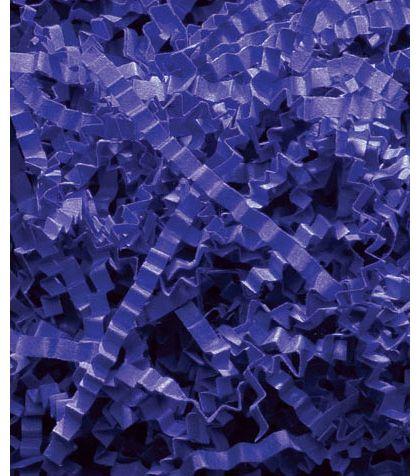 Royal Blue Crinkle Cut Fill, 40 lb Box