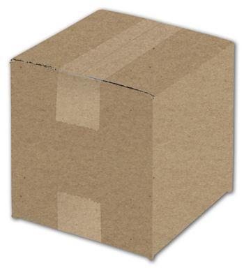 Kraft Corrugated Boxes, 6 x 6 x 6