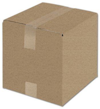 Kraft Corrugated Boxes, 10 x 10 x 10