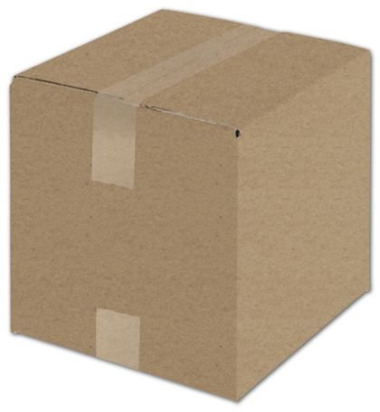 Kraft Corrugated Boxes, 10 x 10 x 10""