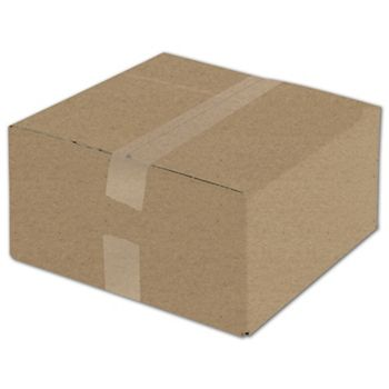 Kraft Corrugated Boxes, 12 x 12 x 6