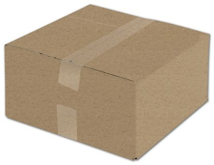 Kraft Corrugated Boxes, 12 x 12 x 6""