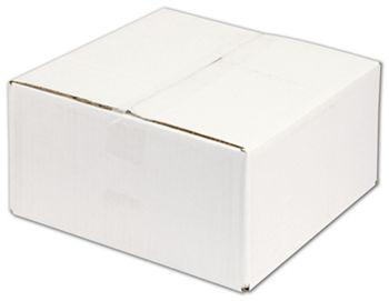 White Corrugated Boxes, 12 x 12 x 6