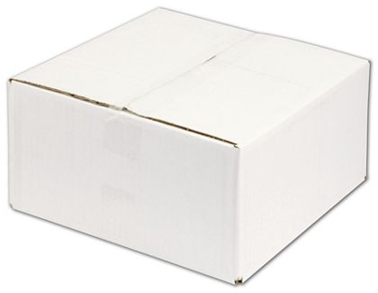 White Corrugated Boxes, 12 x 12 x 6""