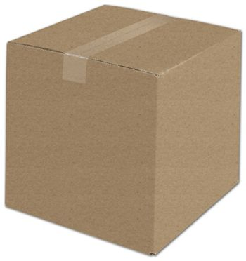 Kraft Corrugated Boxes, 12 x 12 x 12