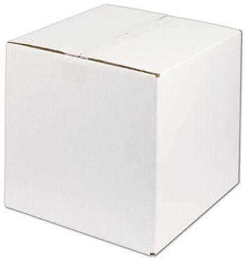 White Corrugated Boxes, 12 x 12 x 12