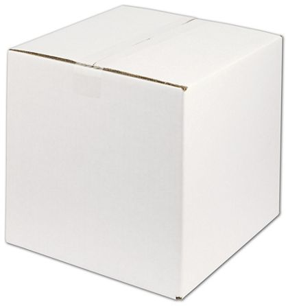 White Corrugated Boxes, 12 x 12 x 12""
