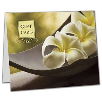 Flower Gift Card Carriers, 6 1/2 x 4