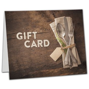 Napkin Gift Card Carriers, 6 1/2 x 4