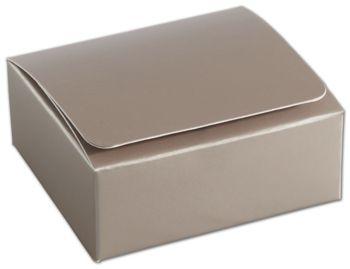 Champagne 4-Truffle Confectionery Box, 3 3/8x3 1/16x1 5/16