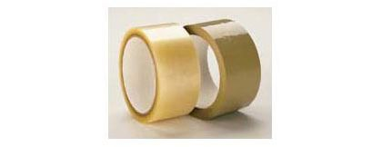 "Tan Carton Sealing Tape, 1.7 Mil, 2"" x 110 Yds"