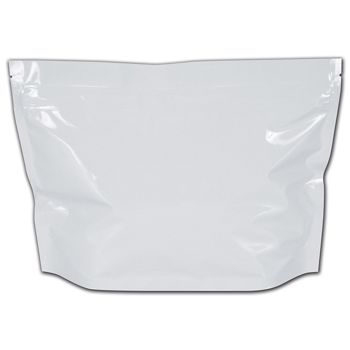 White Large Exit Cannabis Bags, 12 x 9