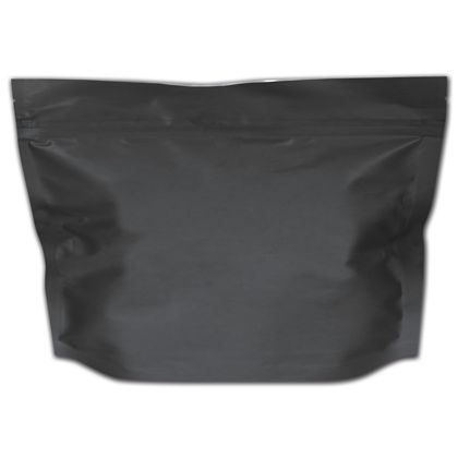 "Black Medium Exit Cannabis Bags, 8 x 6"" + 2 1/2"" BG"