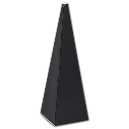 Black Cone Favor Boxes, 2 x 2 x 6 1/2""