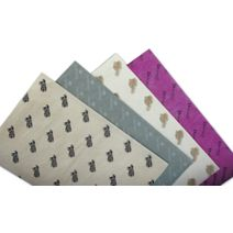 "Colored Custom Printed Tissue Paper, 20 x 30"""