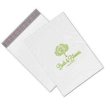 White Custom Printed Poly Mailers, 10 x 13