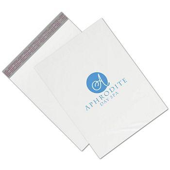 White Custom Printed Poly Mailers, 12 x 15