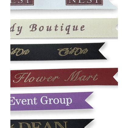 "Silkscreen Grosgrain Ribbon, 7/8"" x 100 Yds"