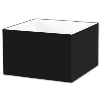 Black Gift Box Bases, 8 x 8 x 5