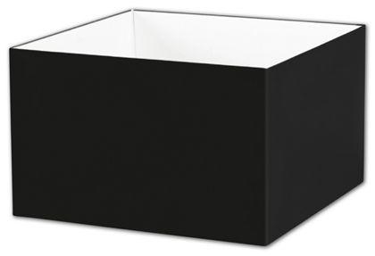 "Black Gift Box Bases, 8 x 8 x 5"""