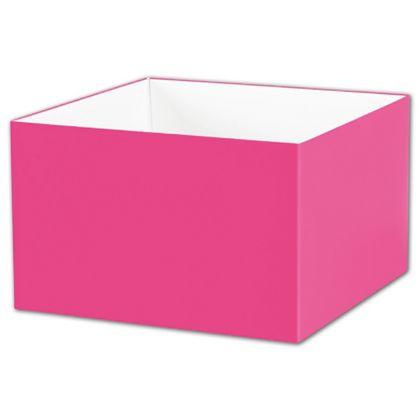 """Fuchsia Gift Box Bases, 8 x 8 x 5"""""""