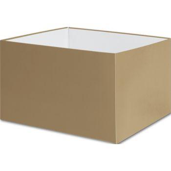 Gold Gift Box Bases, 8 x 8 x 5