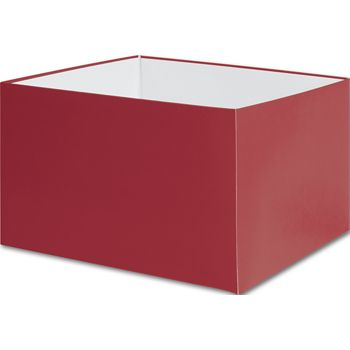 Red Gift Box Bases, 8 x 8 x 5