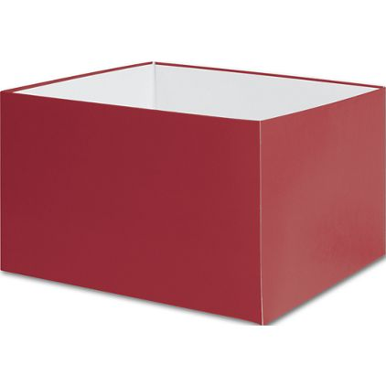 """Red Gift Box Bases, 8 x 8 x 5"""""""
