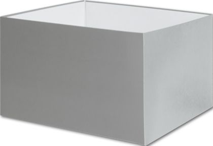 Silver Gift Box Bases, 8 x 8 x 5""