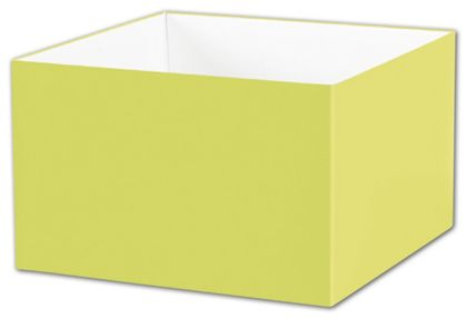 "Pistachio Gift Box Bases, 8 x 8 x 5"""