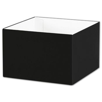 "Black Gift Box Bases, 6 x 6 x 4"""