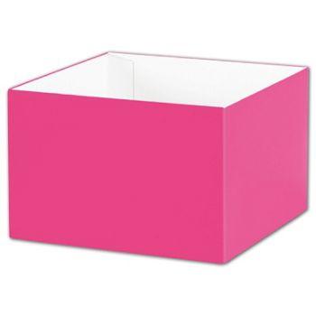 Fuchsia Gift Box Bases, 6 x 6 x 4