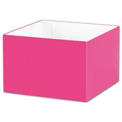 """Fuchsia Gift Box Bases, 6 x 6 x 4"""""""