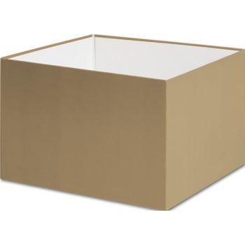 Gold Gift Box Bases, 6 x 6 x 4