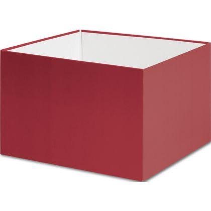 Red Gift Box Bases, 6 x 6 x 4""
