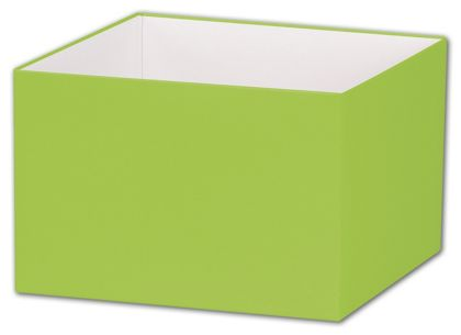 Lime Green Gift Box Bases, 6 x 6 x 4""