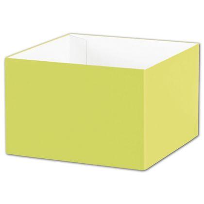 "Pistachio Gift Box Bases, 6 x 6 x 4"""