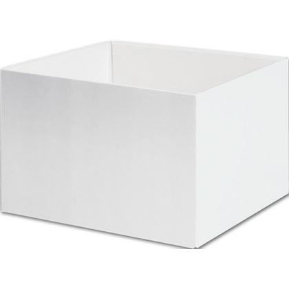 """White Gift Box Bases, 6 x 6 x 4"""""""