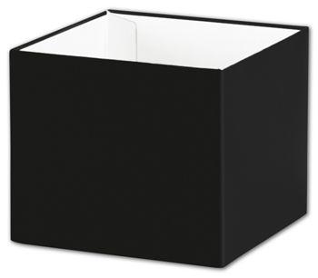 Black Gift Box Bases, 4 x 4 x 3 1/2