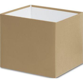 Gold Gift Box Bases, 4 x 4 x 3 1/2