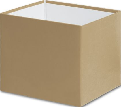 "Gold Gift Box Bases, 4 x 4 x 3 1/2"""