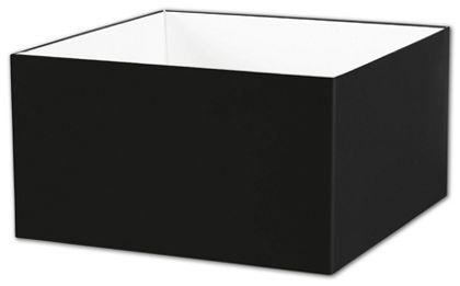 "Black Gift Box Bases, 10 x 10 x 5 1/2"""