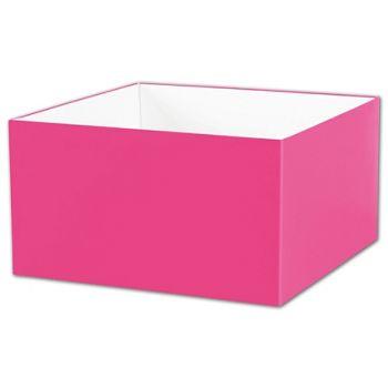 Fuchsia Gift Box Bases, 10 x 10 x 5 1/2