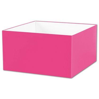 """Fuchsia Gift Box Bases, 10 x 10 x 5 1/2"""""""