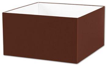 Chocolate Gift Box Bases, 10 x 10 x 5 1/2