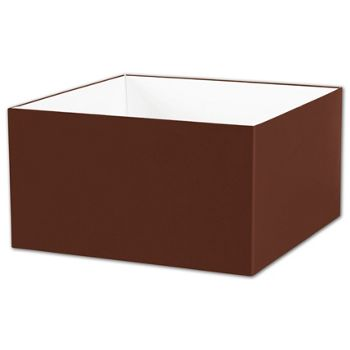 Chocolate Gift Box Bases, 10 x 10 x 5 1/2