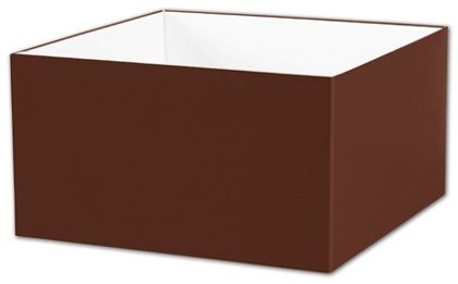 "Chocolate Gift Box Bases, 10 x 10 x 5 1/2"""